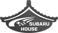 Subaru house logo gray